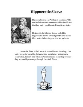 Ancient Water Filtration Round Robin