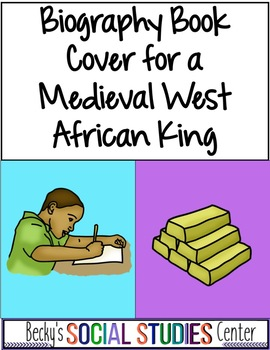 Ancient West Africa Activity: Biography Book Jacket - Ghana, Mali & Songhai