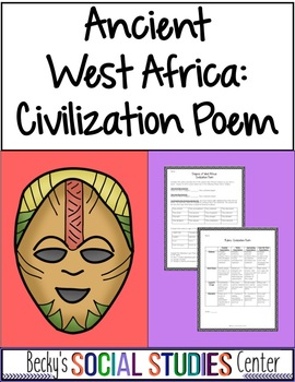 Ancient West Africa - Evidence-Based Poem About Ghana, Mali or Songhai