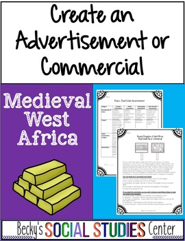 Ancient West Africa Project - Ghana, Mali, Songhai Kingdoms - Ad or Commercial