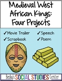 Ghana, Mali, Songhai - Four Projects - Movie Trailer, Speech, Poem Scrapbook