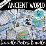 Ancient World Doodle Notes Bundle