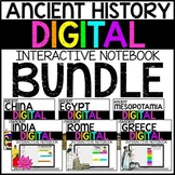 Ancient World History Digital Interactive Notebook BUNDLE