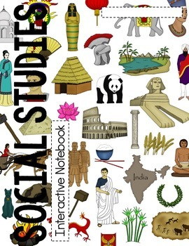 Ancient/World History Interactive Notebook Cover, Rubric, Table of Contents