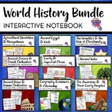 Ancient / World History Interactive Notebook Social Studies BUNDLE
