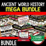 Ancient World History MEGA BUNDLE (World History Curriculu