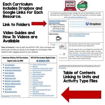 Ancient World History MEGA BUNDLE (World History Curriculum Bundle)