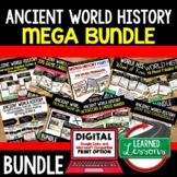 Ancient World History MEGA BUNDLE (World History Curriculu