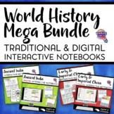 Ancient/World History MEGA BUNDLE: Digital & Paper Interactive Notebooks