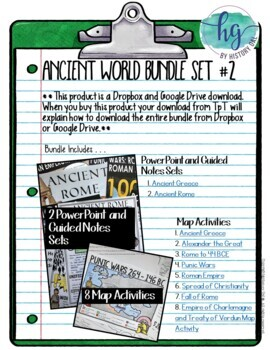Ancient World History Mega Bundle Set #2