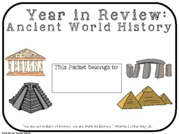 Ancient World History Review Part I