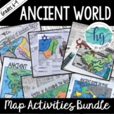 Ancient World Map Activities Bundle