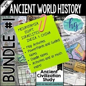 Ancient World Bundle Set #1