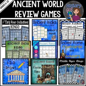 Ancient World Review Games Bundle Pack