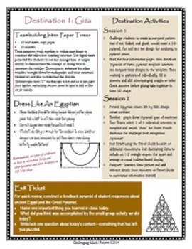Ancient World Wonder Travels - Destination #1: Pyramid of Giza