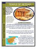Ancient World Wonder Travels - Destination #3: Temple of Artemis at Ephesus