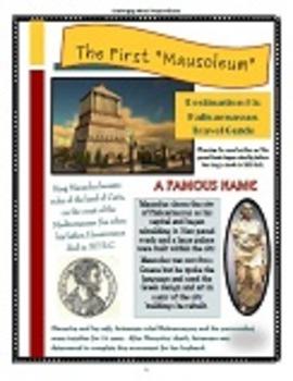 Ancient World Wonder Travels - Destination #5: Mausoleum at Halicarnassus