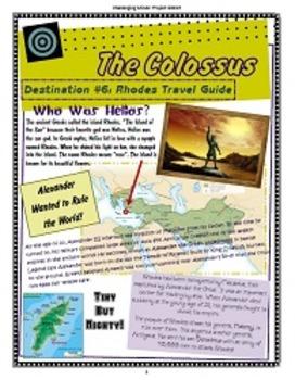 Ancient World Wonder Travels - Destination #6: Colossus of Rhodes