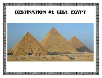 Ancient World Wonder Travels - Destination Posters