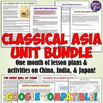Classical Asia Unit Set: China, India, the Mongols & Japan
