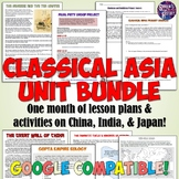 Classical Asia Unit Set: China, India, the Mongols & Japan