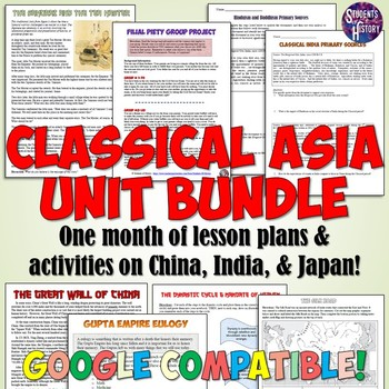 Ancient and Classical China Unit Bundle