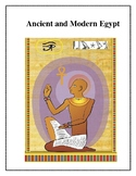 Ancient and Modern Egypt Integrated Unit, Activities and Worksheets