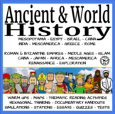 Ancient and World History GROWING BUNDLE