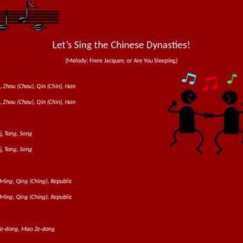 Ancient china dynasties