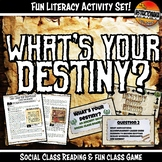 Ancient Egypt What's Your Destiny Close Reading & Fun Read