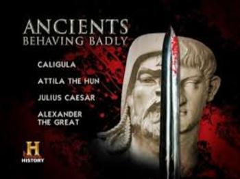 Ancients Behaving Badly:  Alexander the Great  Disc 1.4 WITH ANSWER KEY! : )