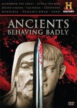 Ancients Behaving Badly: Julius Caesar fill-in-the-blank movie guide w/quiz