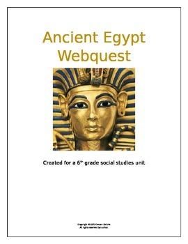 Anciet Egypt Webquest
