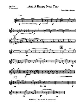 ...And A Happy New Year - A Quartet For Any Instruments