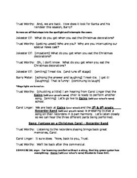 And Now the News (a Christmas Musical)