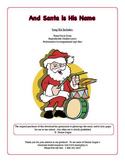 And Santa is His Name - Song & Game (with mp3 files)