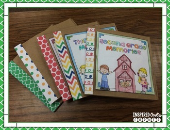 End of the Year Paper Bag Scrapbook and Activities
