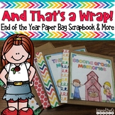 Memory Book End of the Year Paper Bag Scrapbook and Activities