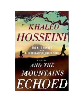 And The Mountains Echoed-Khaled Hosseini (The Kite Runner) FULL UNIT BUNDLE