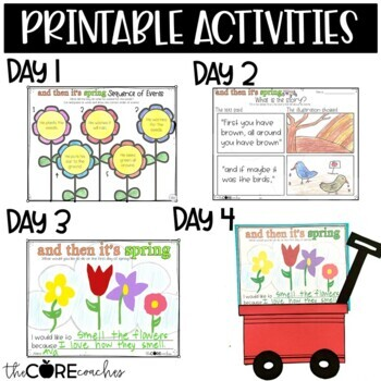 And Then It's Spring: Interactive Read-Aloud Lesson Plans and Activities