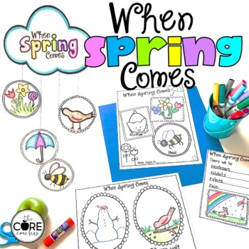 When Spring Comes Read-Aloud | Distance Learning | for Google Slides