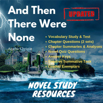 And Then There Were None - Agatha Christie - Novel Study Resources