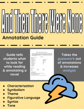 And Then There Were None Annotation Guide