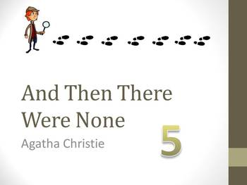 And Then There Were None Chapter Five Teaching Resources