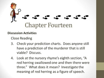 And Then There Were None Chapter Fourteen Teaching Resources