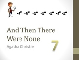 And Then There Were None Chapter Seven Teaching Resources