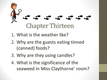 And Then There Were None Chapter Thirteen Teaching Resources