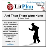 And Then There Were None: LitPlan Teacher Guide - Lesson P