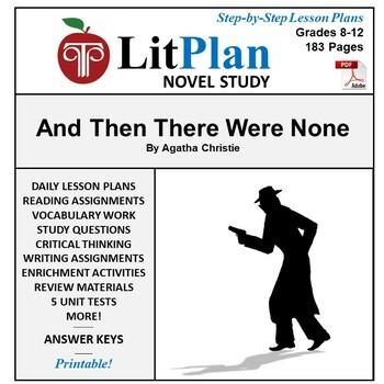 And Then There Were None: LitPlan Teacher Guide - Lesson P