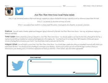 And Then There Were None: Social Media Exit Slip